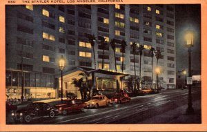 California Los Angeles The Statler Hotel