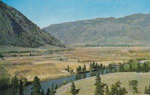Canada Similkameen Valley and River at Richter Pass Near Keremeos British Col...