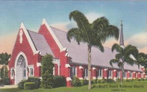 Florida Tampa St Paul's Lutheran Church