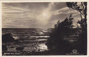 RP; Mansken over VANERN, Sweden, PU-1946