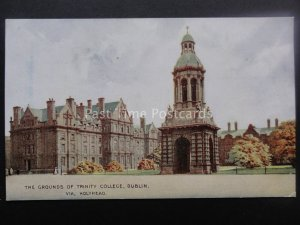 Railway Official L&NW DUBLIN TRINITY COLLEGE via Holyhead - Old Postcard
