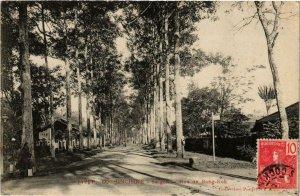 CPA AK INDOCHINA Saigon Rue de Bang-Kok VIETNAM (957079)