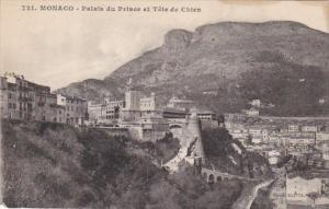 Monaco Palais du Prince et Tete de Chien