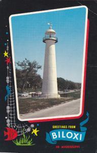 LIGHTHOUSE , 50-60s ; Biloxi , Mississippi