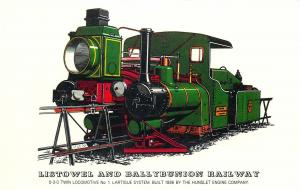 Listowel Ballybunion Railway Locomotives history twin locomotive Hunslet Company