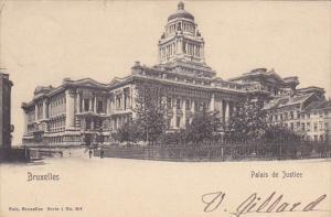 Belgium Brussels Palais de Justice 1904