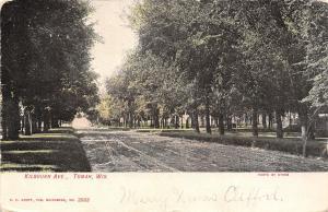 Tomah Wisconsin~Kilbourn Avenue~Dirt Road Through Trees~1907 Postcard