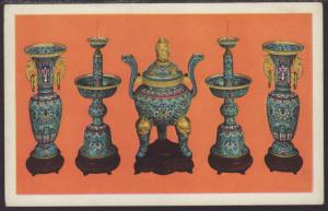 Cloisonne Alter Set,Ching Dynasty,Century of Progress
