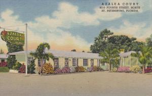 ST. PETERSBURG, Florida, 1930-1940's; Azalea Court