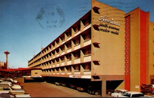 Washington Seattle The Americana Motor Hotel 1965