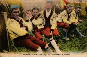 CPA Types Bethmalais Concours de Costumes FRANCE FOLKLORE (789344)