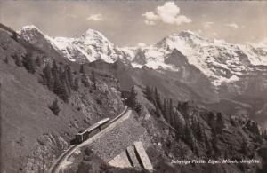 Switzerland Schynige Platte Eiger Moench und Jungfrau Photo