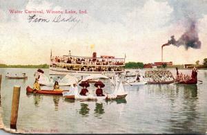 Indiana Winona Lake Water Carnival 1911