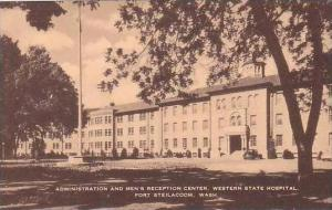 Washington Fort Steilacoom Administration and Mens Reception Center Western S...
