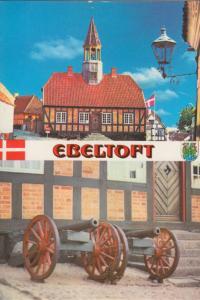EBELTOFT, Denmark, used Postcard