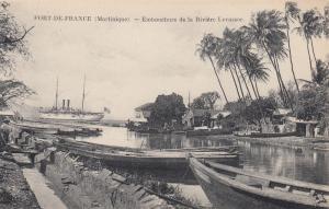 FORT-DE-FRANCE (Martinique) , 00-10s.-Embouchure de la Riviere Levassor