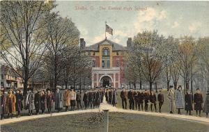 F36/ Shelby Ohio Postcard c1910 Central High School