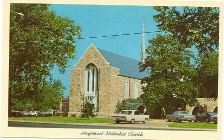 Haymount Methodist Church, Fort Bragg Road, Fayetteville
