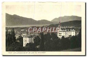 CARTE Postale Old Aix les Bains Lake Bourget