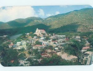 Unused Pre-1980 PANORAMIC VIEW St. Thomas Us Virgin Islands USVI H9819