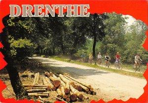B108711 Netherlands Drenthe Park Promenade Cyclists