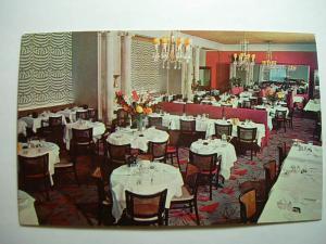 1960's Divan Parisien Restaurant Manhattan New York NYC Unused Postcard y7976-22