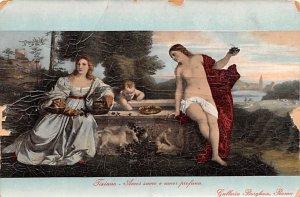 Amos Sacoro e Amos Profano Galleria Borghese, Roma Artist Unused