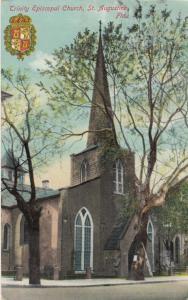 ST. AUGUSTINE, Florida , PU-1916 ; Trinity Episcopal Church