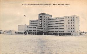 Erie Pennsylvania~Veterans Administration Hospital~Art Deco~1930s Artvue PC