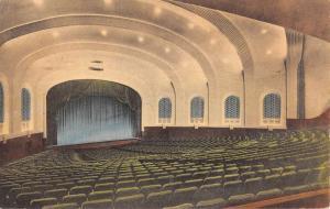 Bloomington Indiana University Auditorium Interior Antique Postcard K96281