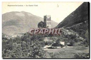 Old Postcard Bagneres de Luchon Old Castel