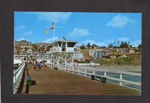 CA Pier Greetings From SAN CLEMENTE CALIFORNIA Calif Postcard PC