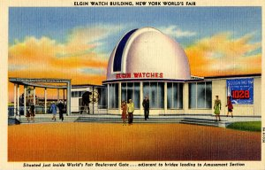 NY - New York World's Fair, 1939. Elgin Watch Building