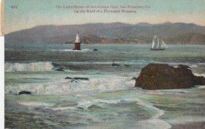 SAN FRANCISCO, California, 1912; Light-House off the Golden Gate
