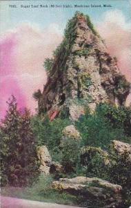 Michigan Mackinac Island Sugar Loaf Rock