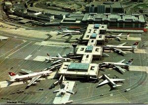 Switzerland Flughafen Zurich-Kloten Airport Swissair Terminal