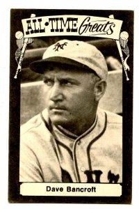 Dave Bancroft, Baseball Hall of Fame