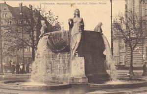 Germany Muenchen Nornenbrunnen von Professor Hubert Netzer