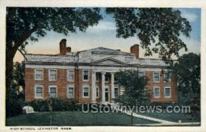 High School, Lexington - Massachusetts MA