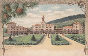 Le Sanatorium d'Hauteville (Ain) , France , 1890s