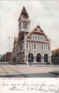 READING, Pennsylvania, 1900-1910's; Post Office