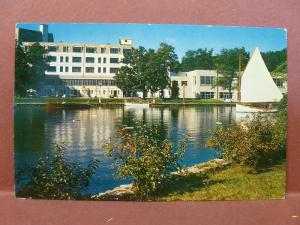 Old Postcard WI Green Lake American Baptist Assembly