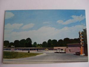 1960's Model Restaurant & Motel Amarillo Texas TX Unused Postcard y7354-26