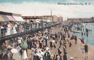 New Jersey Atlantic City Bathing Time 1908