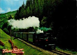 IMN02570 lungauer ferien express bummelzug der murtalbahn austria train railway