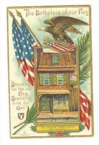 The Betsey Ross House,Philadelphia,Pennsylvania,1909