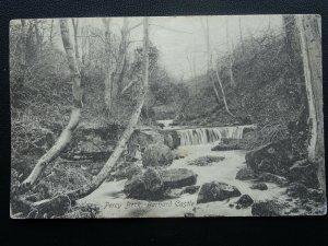 Durham Teesdale BARNARD CASTLE Percy Beck Falls - Old Postcard