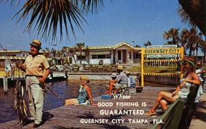 FL - Tampa. Guernsey City, Private Fishing Pier