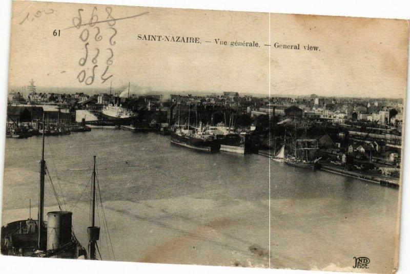 CPA St-NAZAIRE - Vue générale (251079)