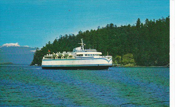 Ferry M V Queen of Sydney British Columbia